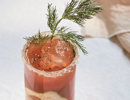 Bloody Mary cocktail recipe by Gattertop Drinks Co using Botanic No 7 Vodka