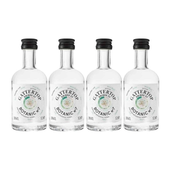 Botanic No 7 mini bottles vodka