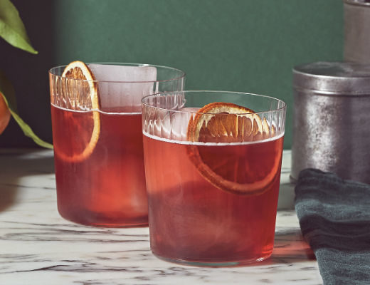 Negroni cocktail recipe by Gattertop Drinks Co using Damson No 12 Vodka